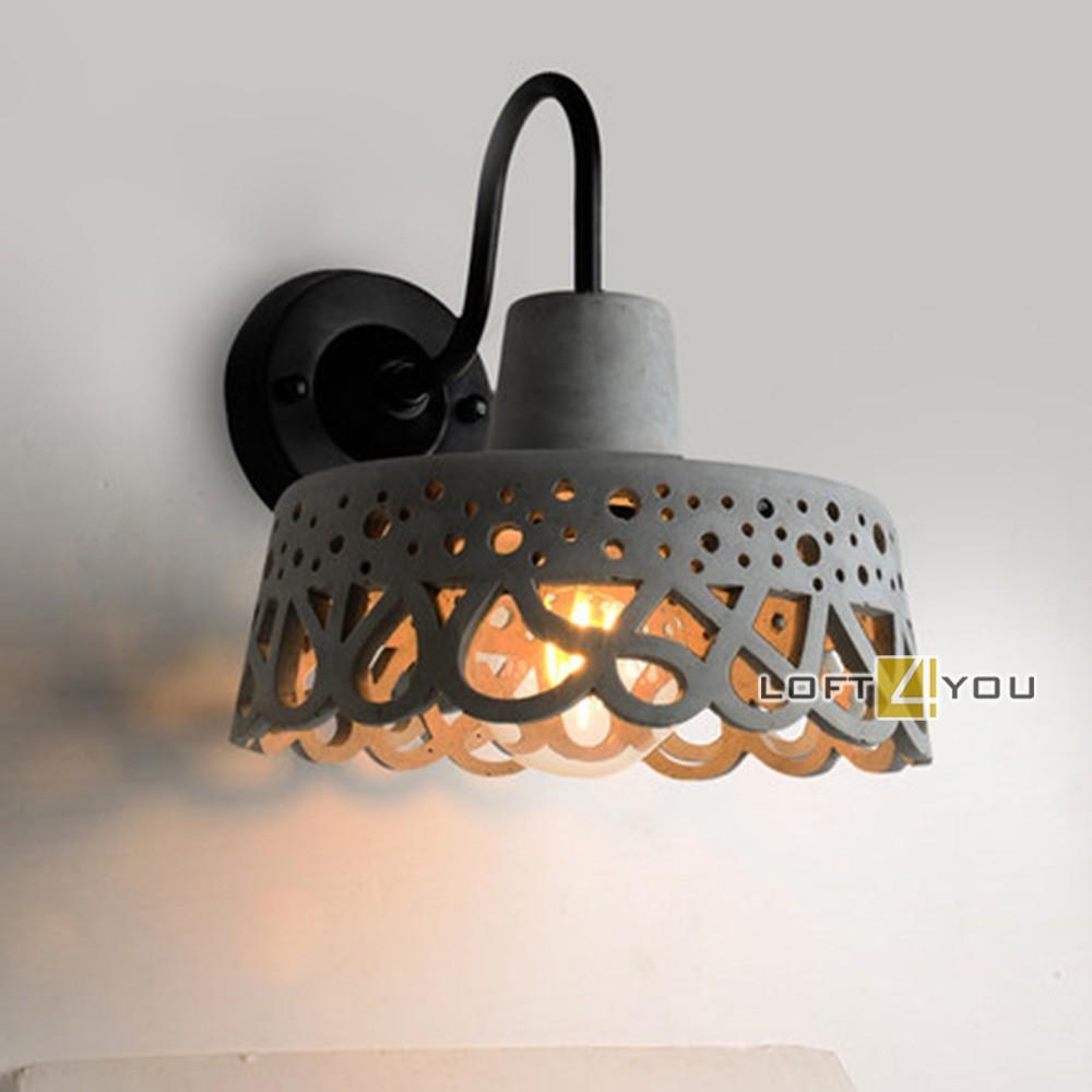 Beton Wall Lamp