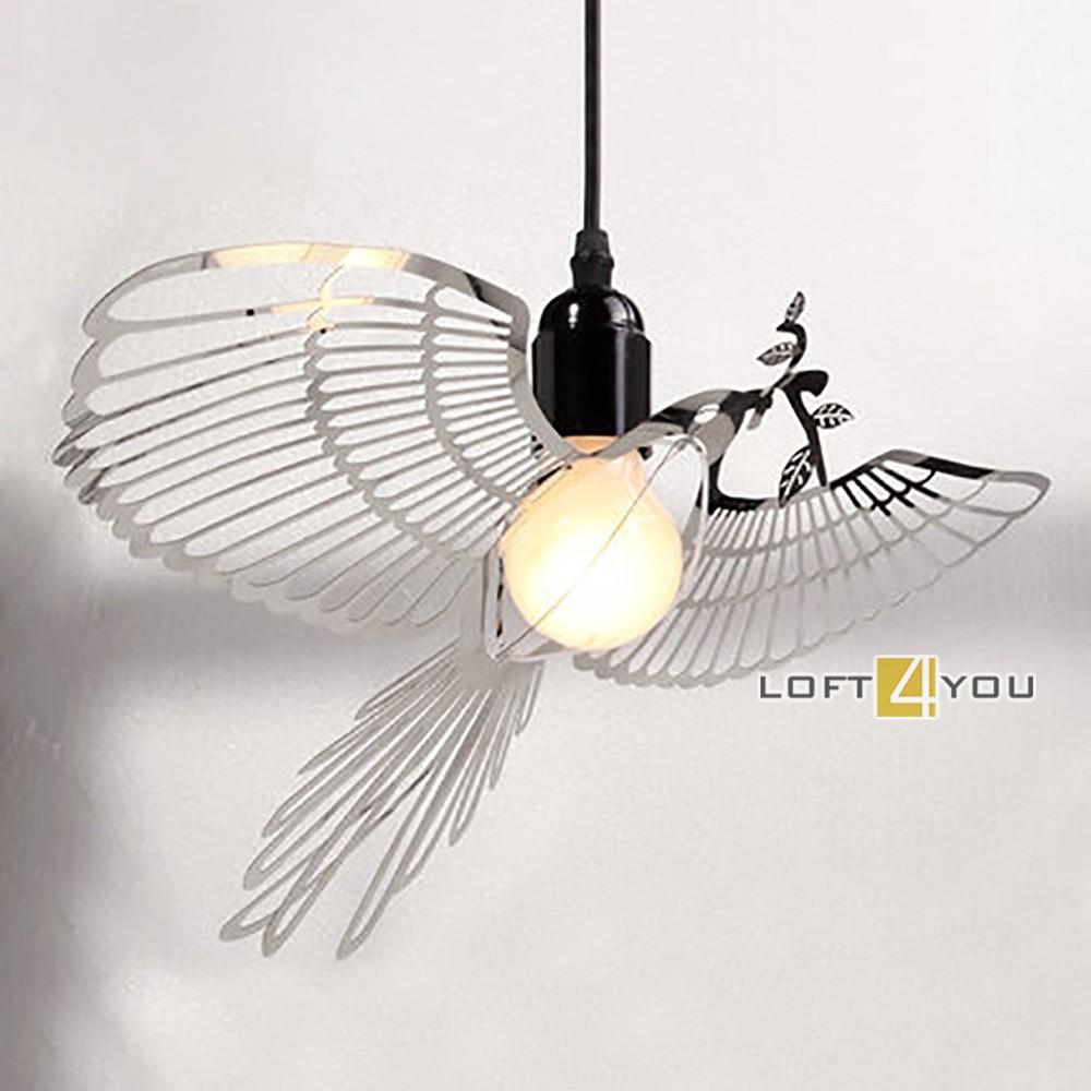 Bird metal Pendant
