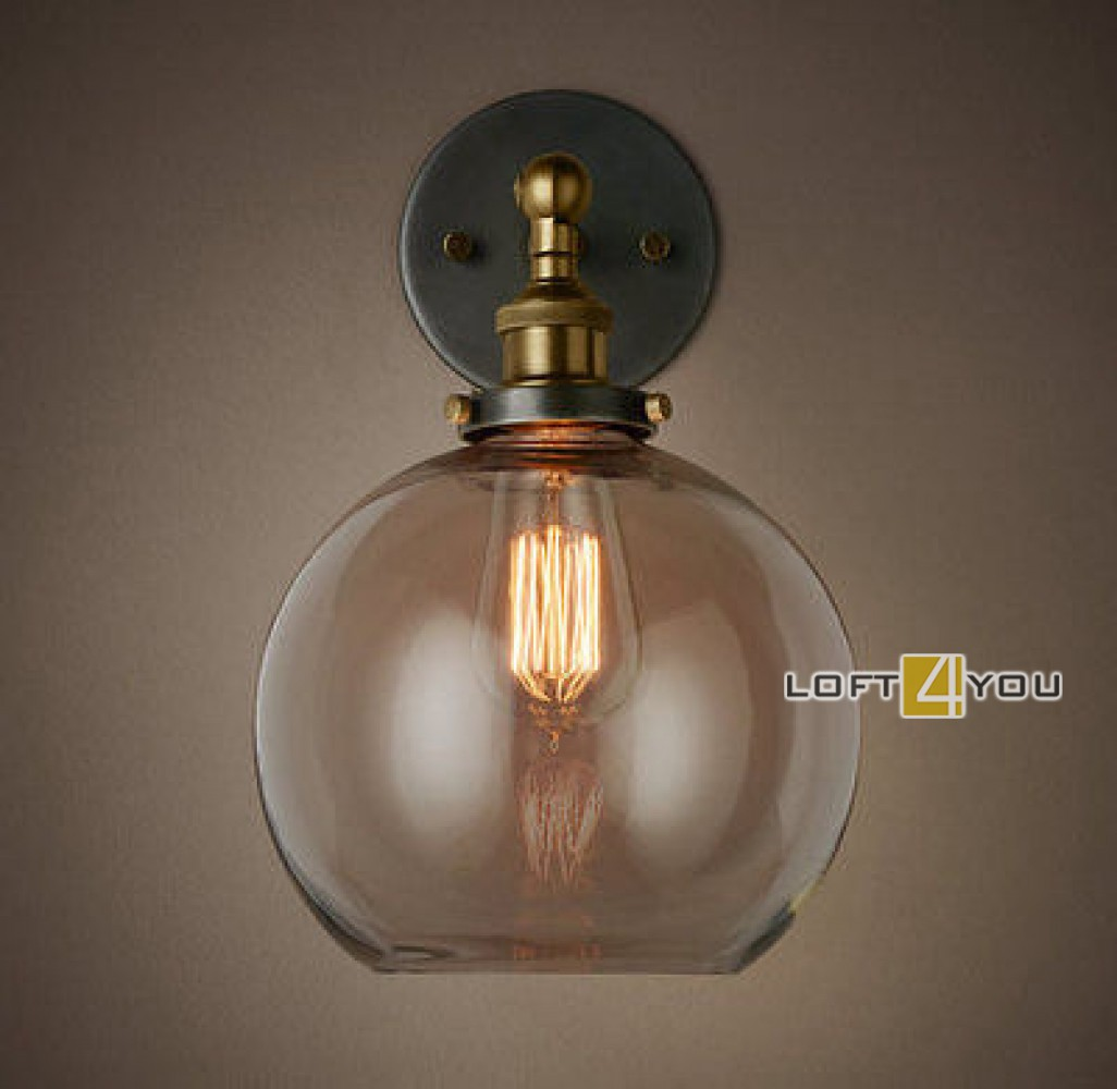 Clear Glass Sphere Cloche