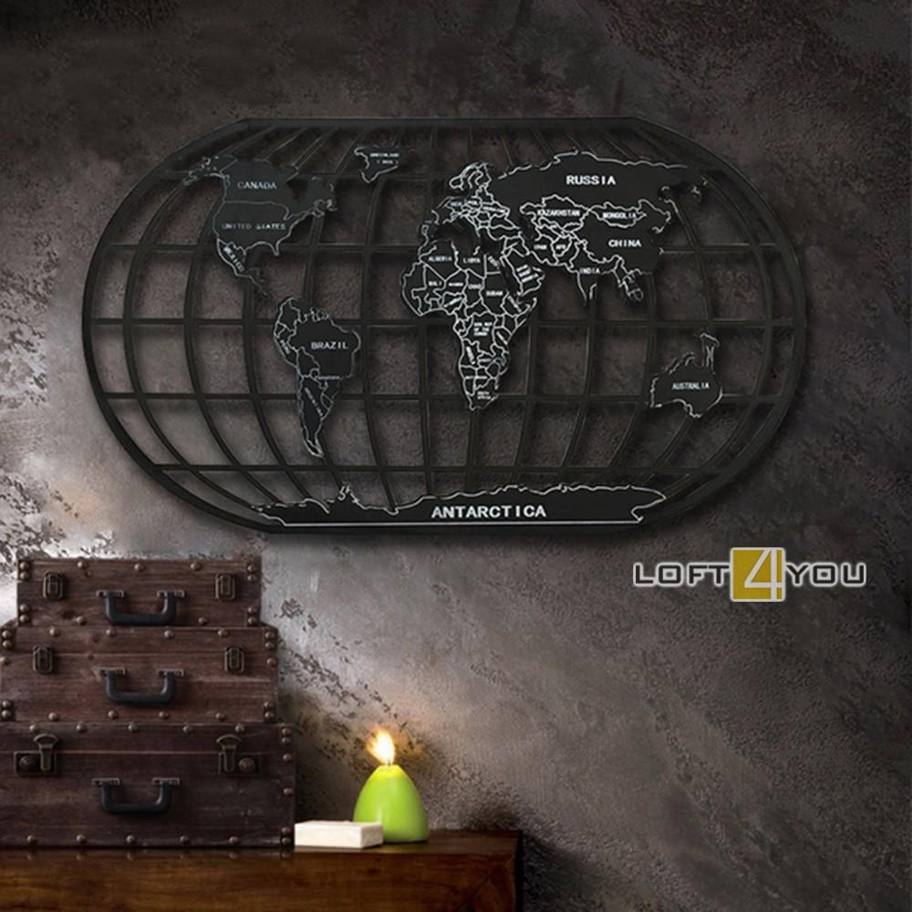 Декор на стену «Глобус»