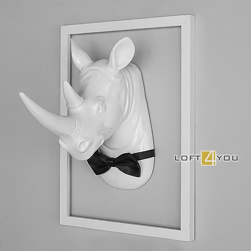 Декор на стену «Носорог»