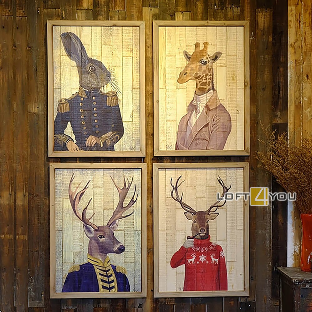 Фреска Animals