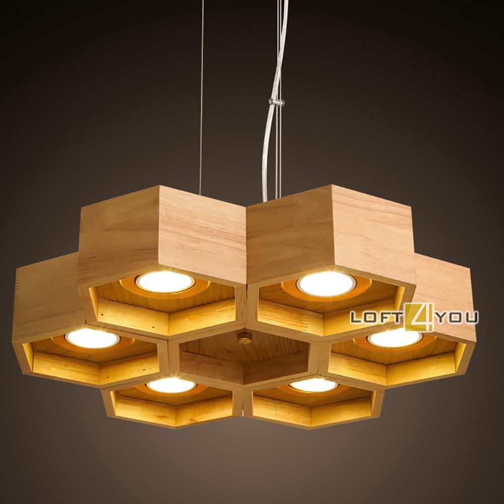 Honeycomb Wooden Ecolight