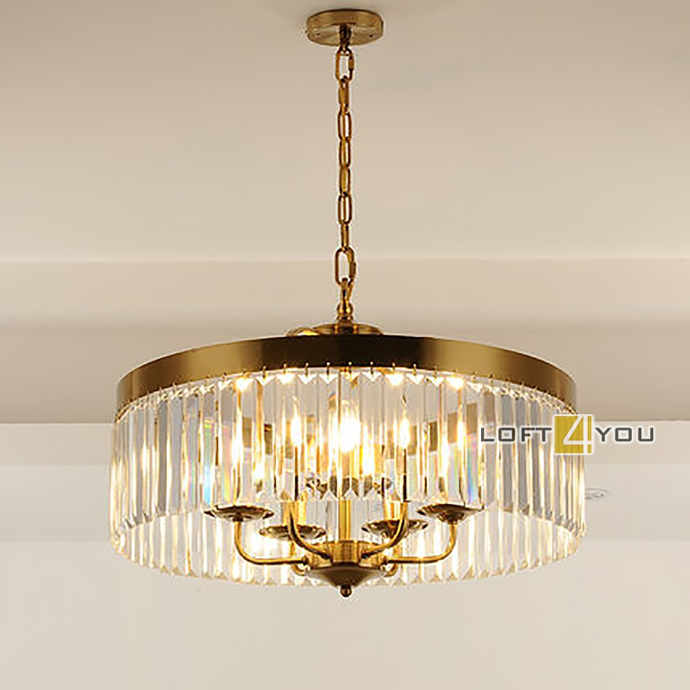 Kebo Brass Chandelier