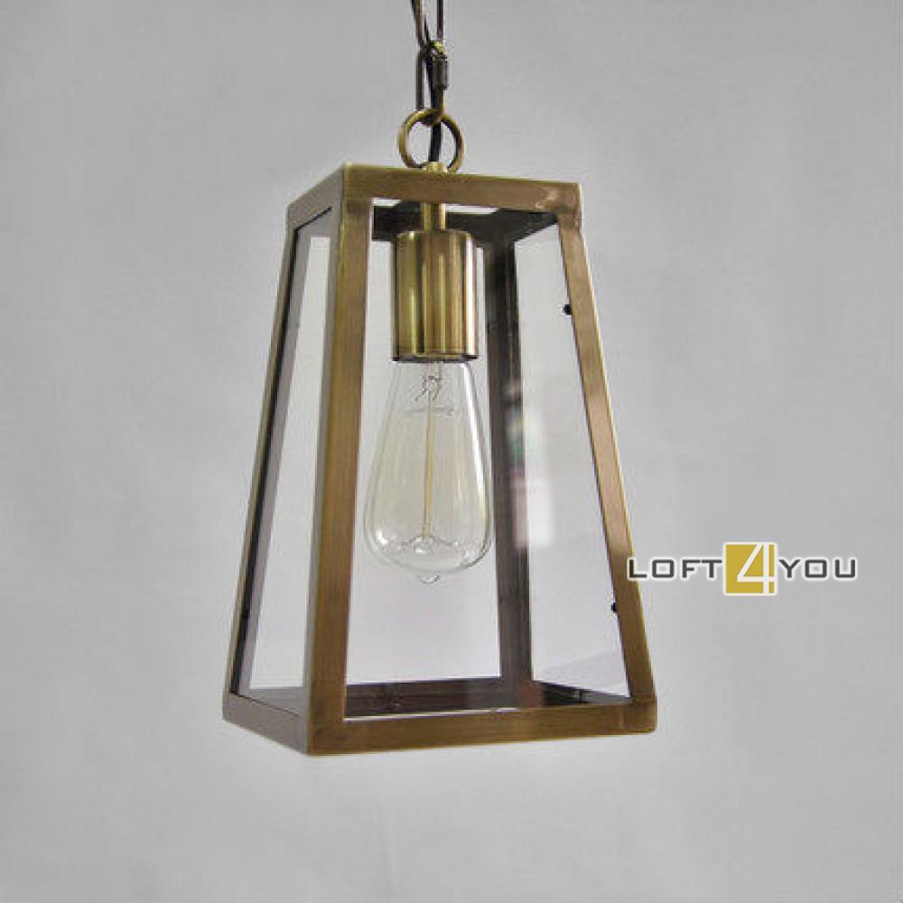 Gold Edison Pendant