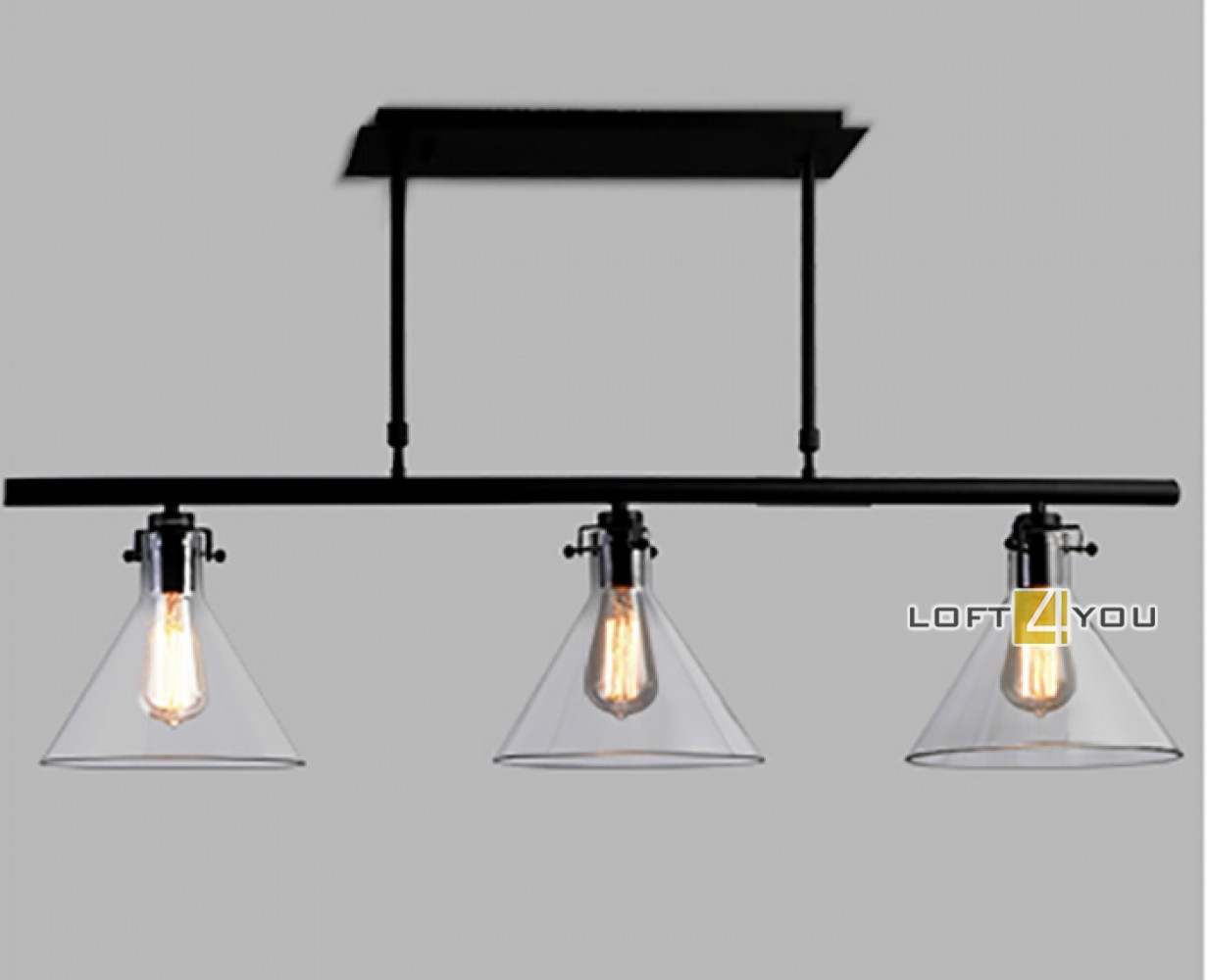Glass Industrial Lamp