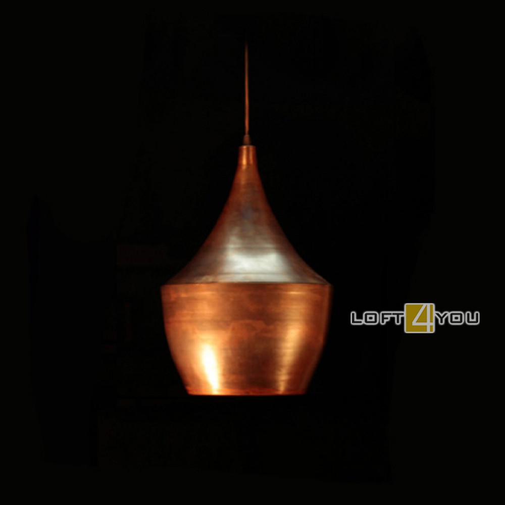 Медный светильник «Лион»