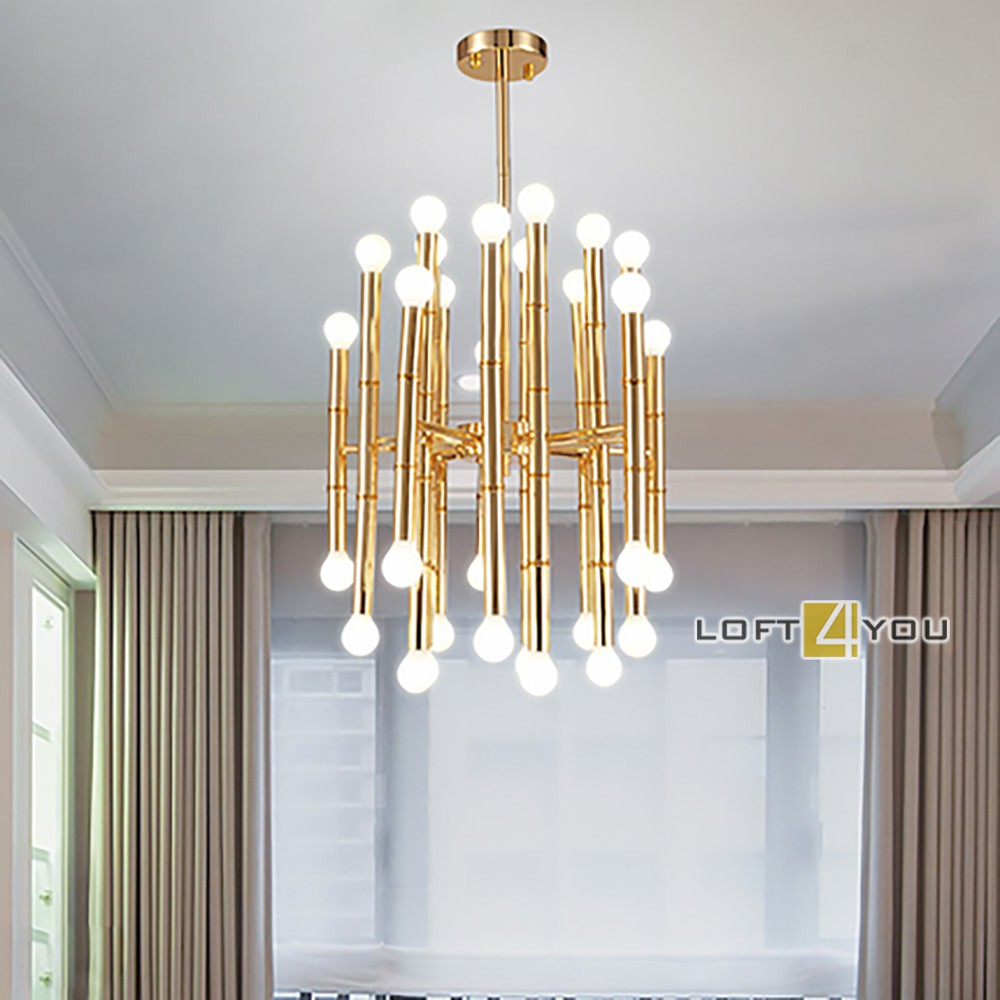 Meurice Rectangle Chandelier Small