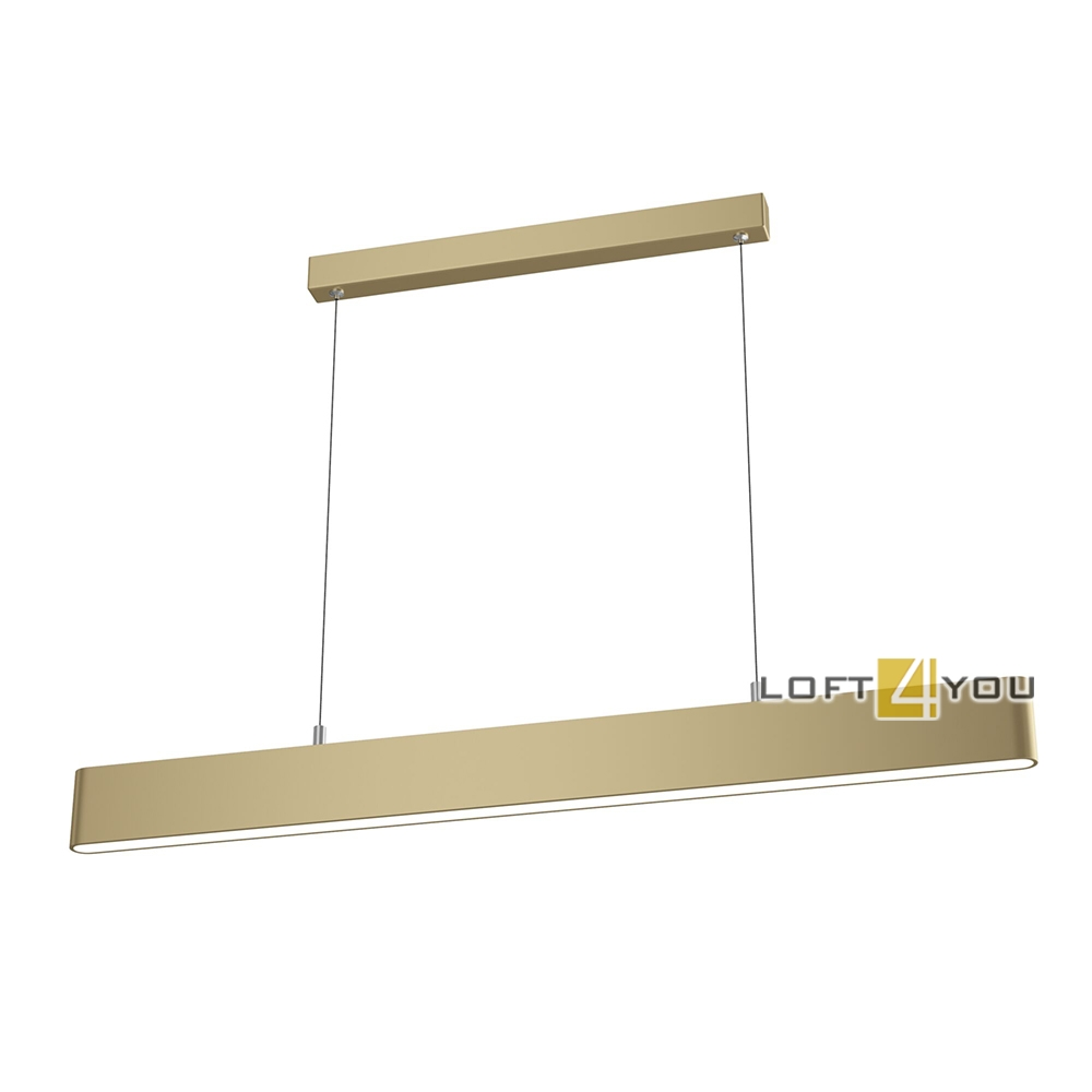 Milana Long Brass