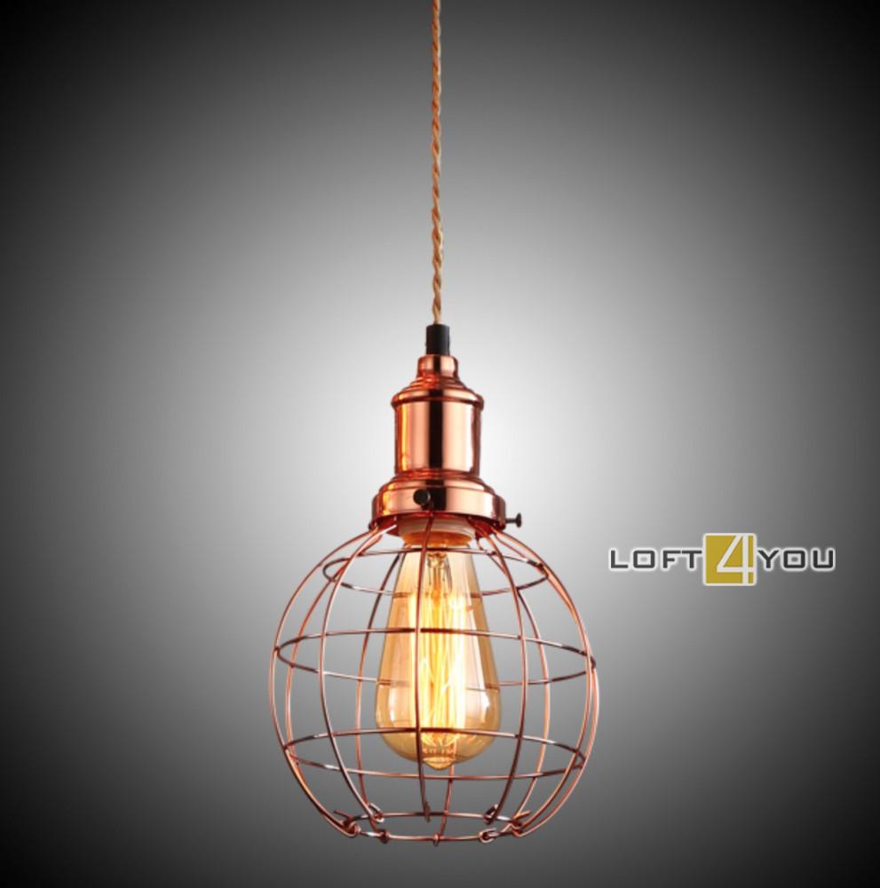 Copper Edison Pendant