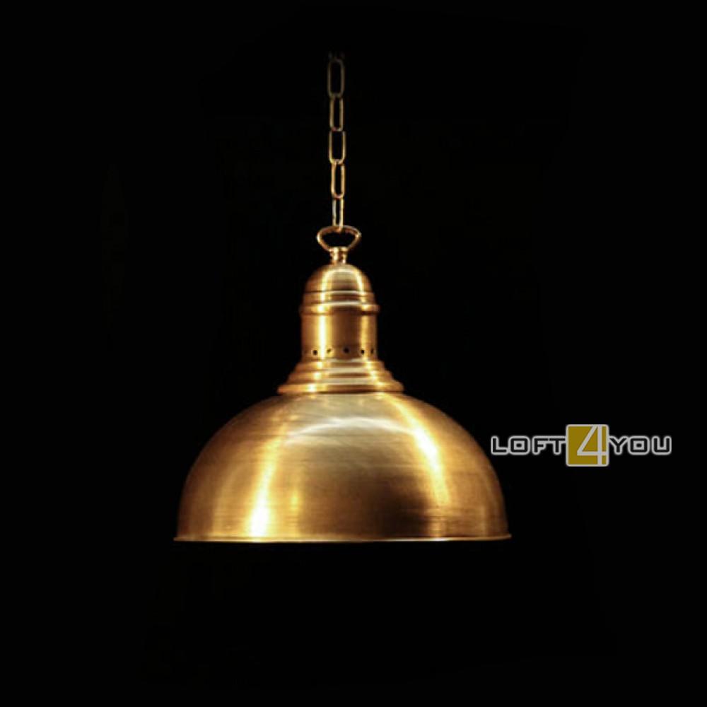 Светильник из латуни «Муран»