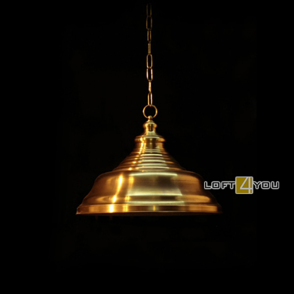 Светильник из латуни «Ромикс»