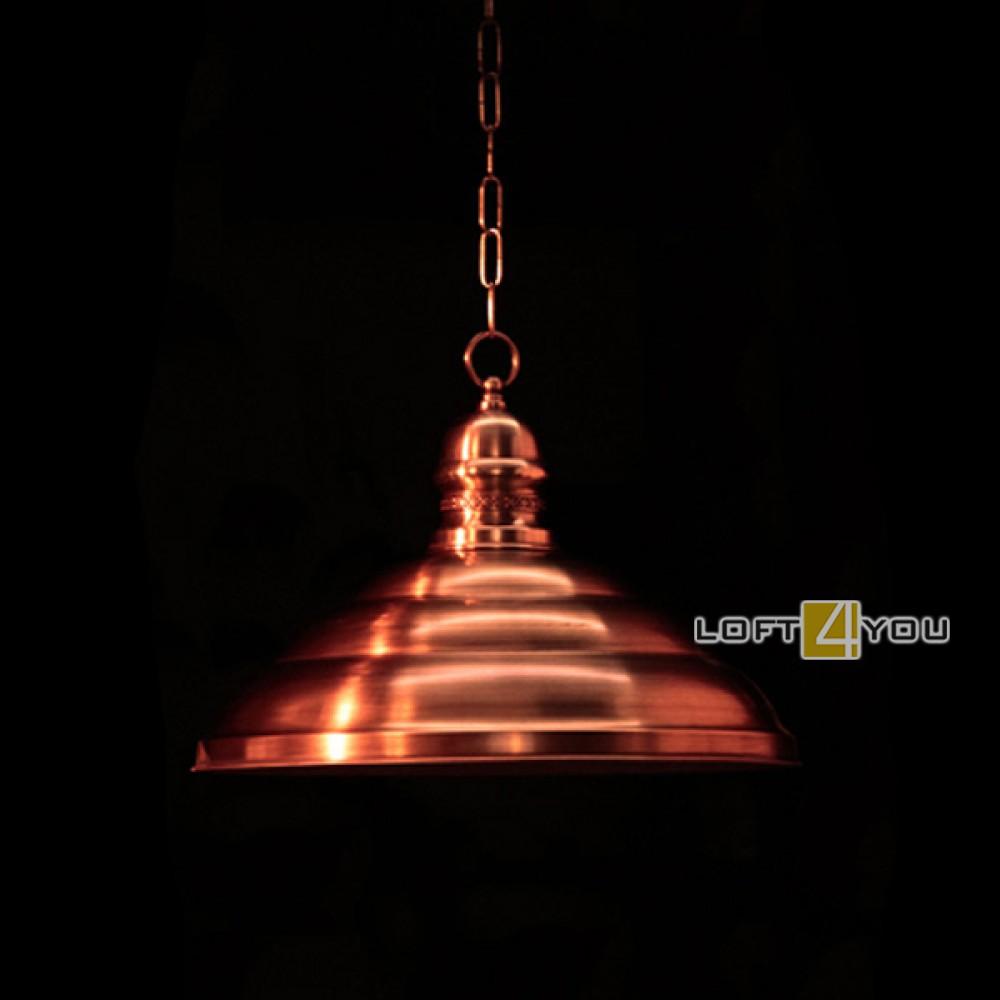 Светильник из меди «Роматти»