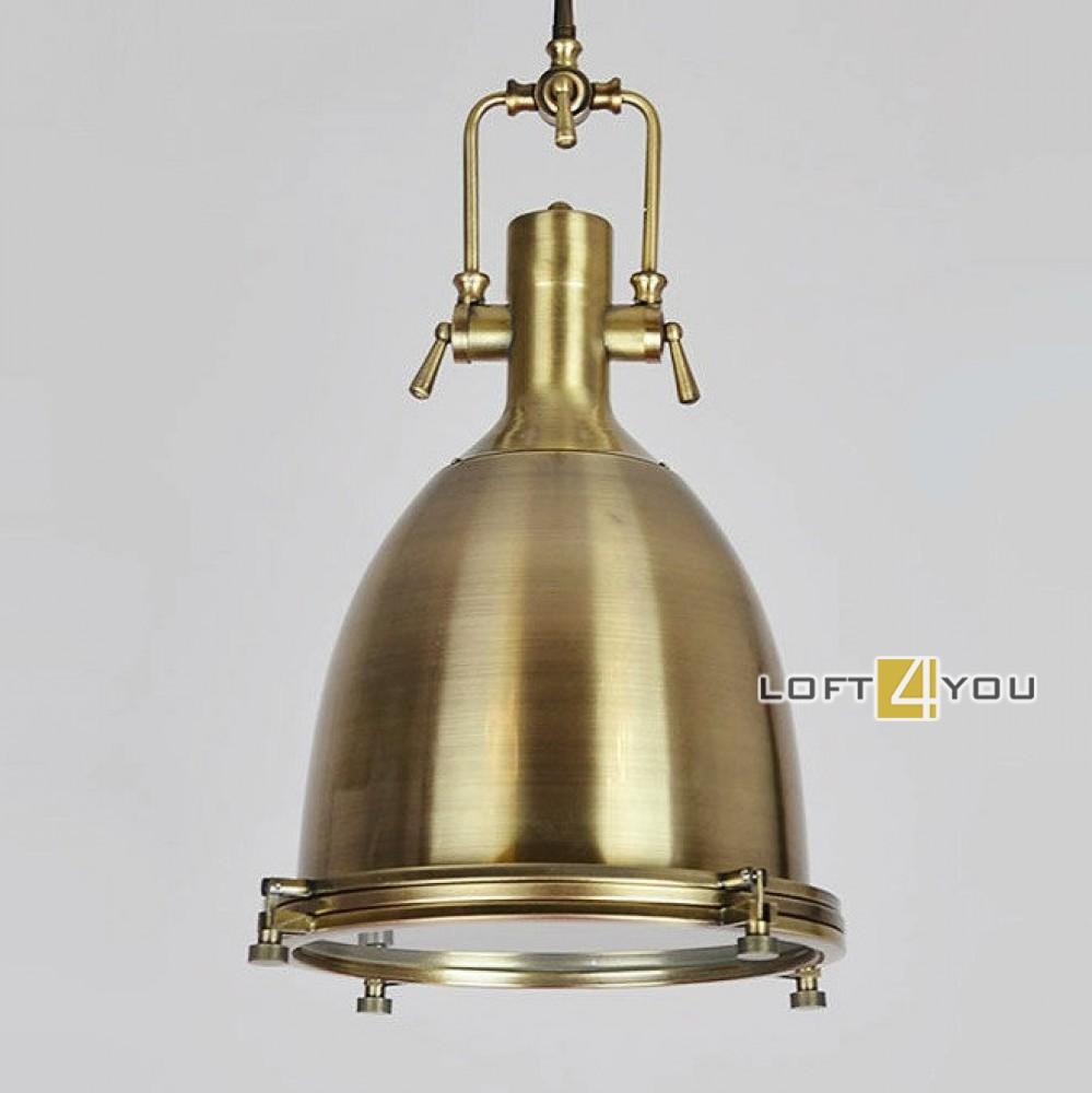 T1 Brass Steampunk Spotlight