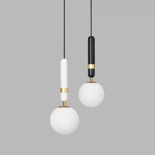 Дизайнерский светильник Aballs Slim Marble