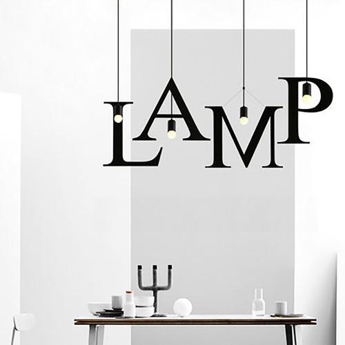 Дизайнерский светильник ABC