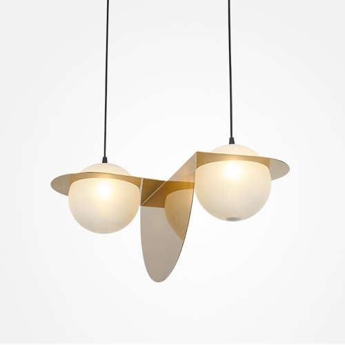 Дизайнерский светильник Advance Double Gold