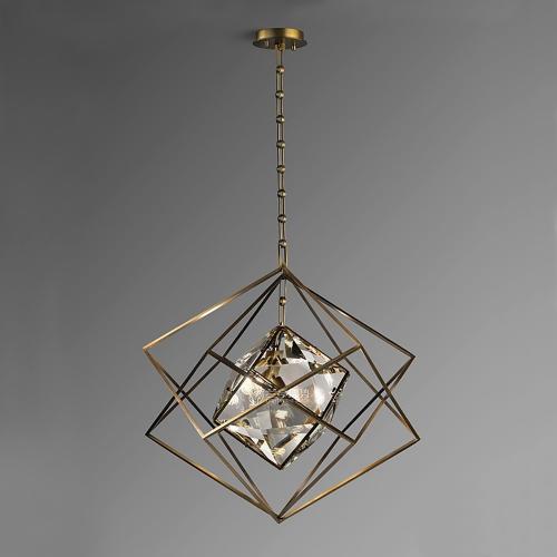 Дизайнерский светильник Advance Luxury Brass Crystal