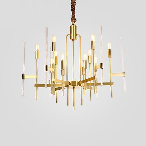 Дизайнерская люстра Anke Brass Chandelier 2