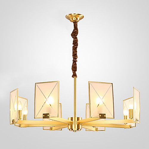 Дизайнерская люстра Anke Brass Chandelier 3