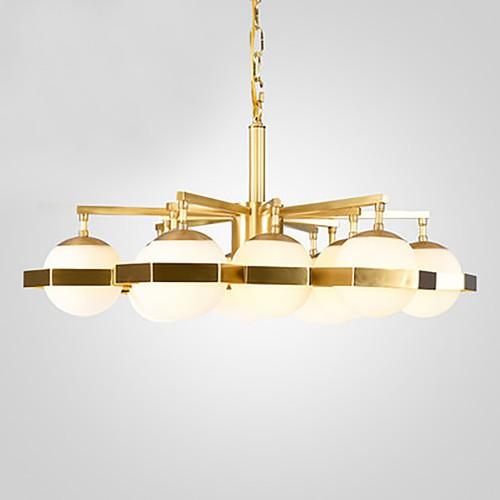 Дизайнерский светильник Anke Brass Globe Chandelier