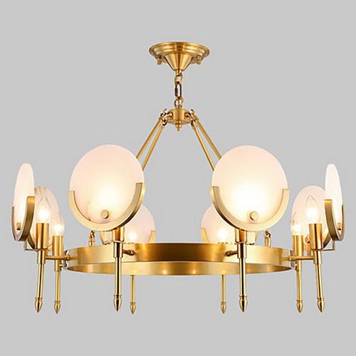 Дизайнерская люстра Anke Brass Marble Meduz