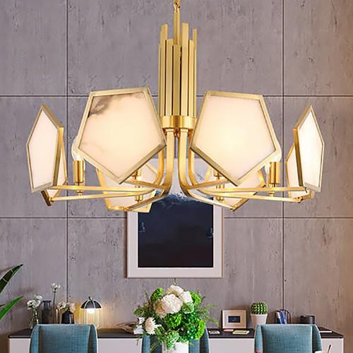 Дизайнерская люстра Anke Luxury Brass Chandelier