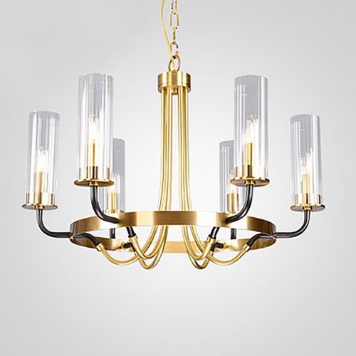 Дизайнерская люстра Anke Luxury Brass Chandelier 2