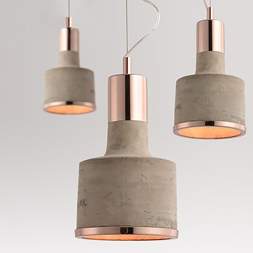 Светильник LOFT Beton Copper Pendant