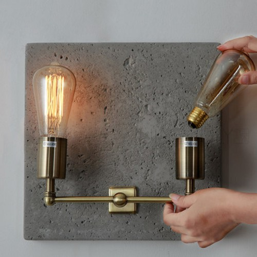 Beton Wall Lamp 2