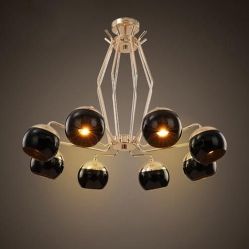 Дизайнерский светильник Big Black Meduz 2