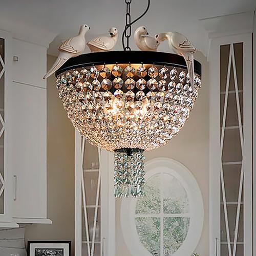 Дизайнерский светильник Bird Crystal Round