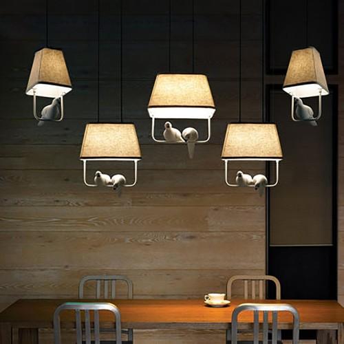 Дизайнерский светильник Norman Bird Chandelier One