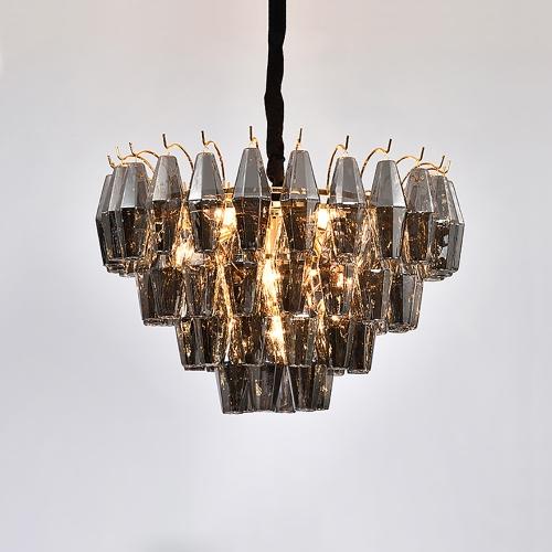 Дизайнерский светильник Black Crystal Chandelier