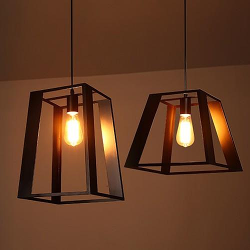 Светильник LOFT Black Edison Pendant 2