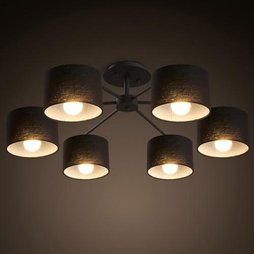 Потолочный светильник LOFT Black Noor