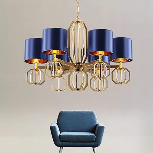 Дизайнерский светильник Blue Chandelier Astana