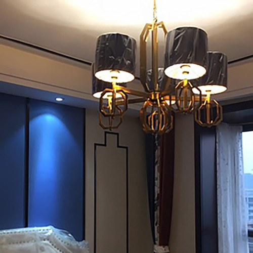 Blue Chandelier Astana