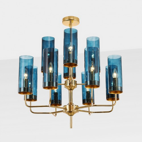 Дизайнерская люстра Blue Glass Art