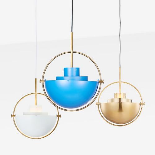 Дизайнерский светильник Blue Kitchen Chandelier