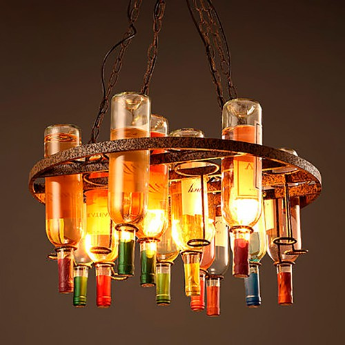 Светильник LOFT Bottle Chandelier 2