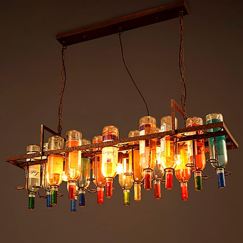 Bottle Chandelier 3