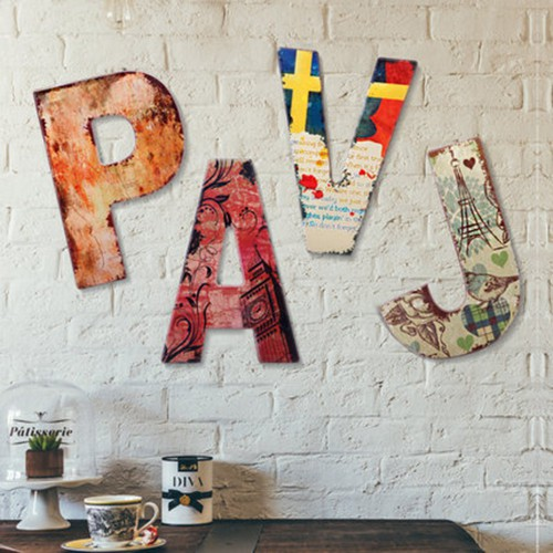 Буквы на стену