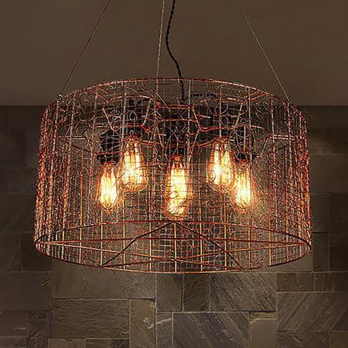 Светильник LOFT Cage Retro Copper