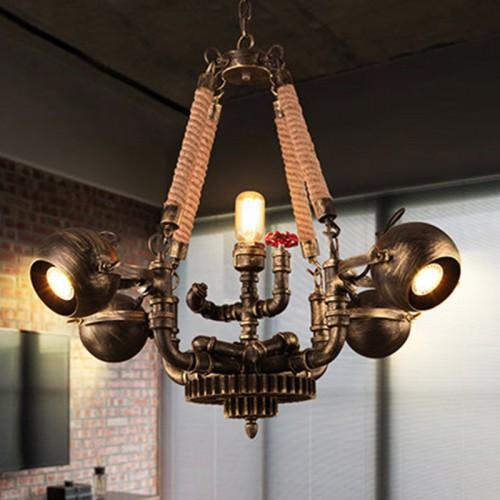 Подвесной светильник LOFT Canat Lustre 25