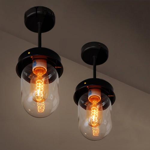 Потолочный светильник LOFT Ceiling Black/Green