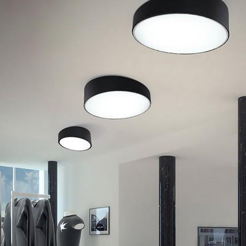Потолочный светильник LOFT Ceiling Black/White