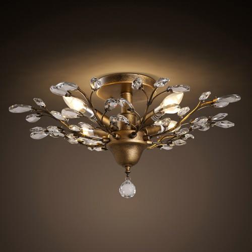 Потолочный светильник LOFT Ceiling Gold Tree