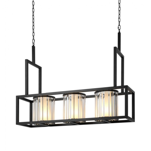 Chandelier Carducci Black Finish 111106