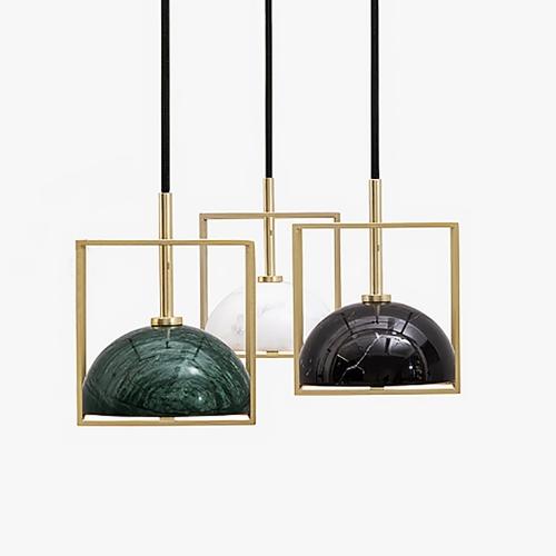 Дизайнерский светильник Chose Brass Stone